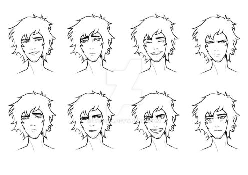 Haruki Expressions test by ImCarla