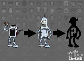 Bender Evolutions (Trivia #7) by 53xy83457