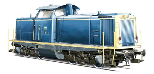 German Locomotive BR 212 by Igneo78