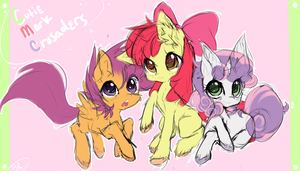 Cutie Mark Crusaders by KawaiiKitsuneChan908