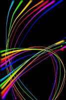 Lines are Abstract RAINBOW by alexsalinasiii