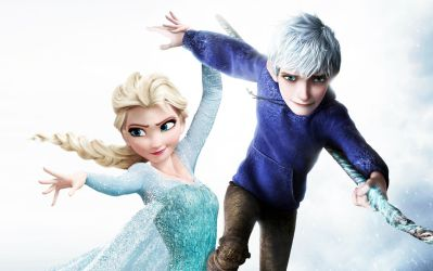 Elsa and Jack Frost by JonFArnold