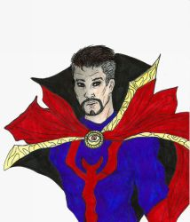 Doctor Strange by NOTEBLUE13