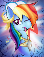 Smug as Rainbow Dash by Animechristy