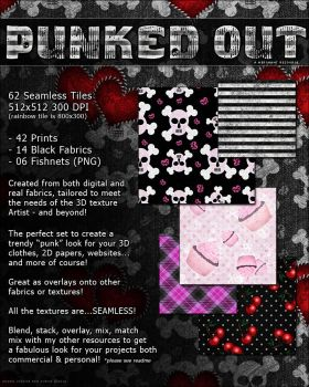 Punked Out Seamless Tiles Resource by cosmosue