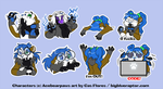 Ace-sticker-sheet Orig by CasFlores