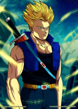 Commission: Trunks (Dragon Ball Z) by Deyvidson