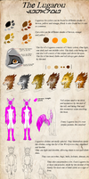 Lugarou - Color Guide part 2 by MayhWolf