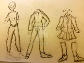 some clothing practice  by RNK50