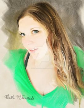 Painted Me by B9Creations