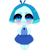 aquamarine Chibi by swordmasterqueen