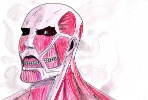 Colossal Titan - Quick sketch by Adventurer4ever