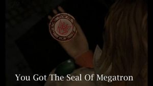 The Seal of Megatron by QuestionSleepZz