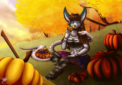:Commission: Autumn by YuikZ
