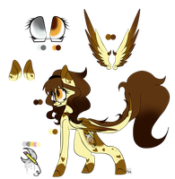 [Gift] Silica Split ~ Reference Sheet by OhFlaming-Rainbow