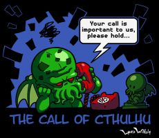 The Call of Cthulhu by LordWilhelm