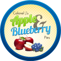 Apple and Blueberry pies by Echilon