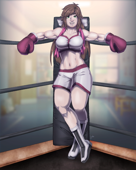 Comm by JeyraBlue: Confident Lilly Blair by KiraYamato74