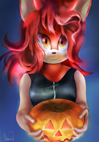 Halloween Art Contest by Mushadewkun