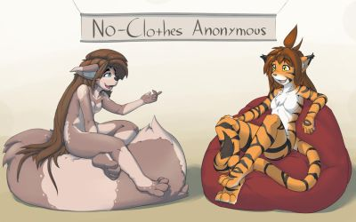 Twokinds: No-Clothes Anonymous by MOOMANiBE