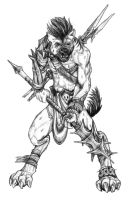 Gnoll, osirion by butterfrog
