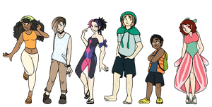Pokemon Sun Team Humanized
