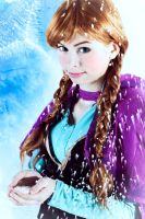 Frozen Anna Cosplay- Do u want to build a snowman? by UnisonCosplayers