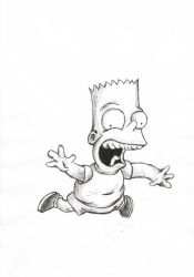 Bart Simpson by SubLeLumiere