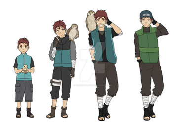 Naoki (and Kuri) Timeline by Hiccups-a-lot