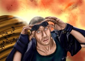 Vin Diesel as Riddick by Sondim
