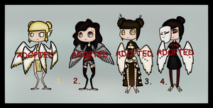More Bird Adopts (CLOSED) by Adopt-From-Frog