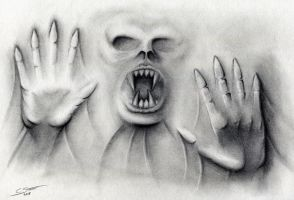 Scary Drawing Illusion - Halloween 2015 by LethalChris
