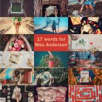 17 words for Wes Anderson by dinabelenko
