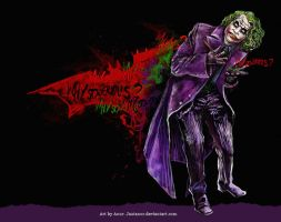 Why so serious? by JustAnoR