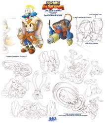 Sonic Boom Character What-ifs - Cream and Cheese by Blue-Paint-Sea