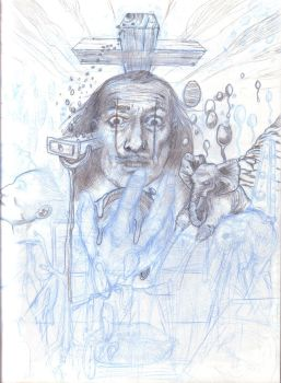 Work in progress, Dali by JulienHB