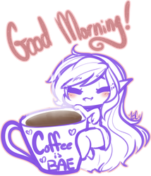 Good Morning [Coffee is BAE] by TehButterCookie