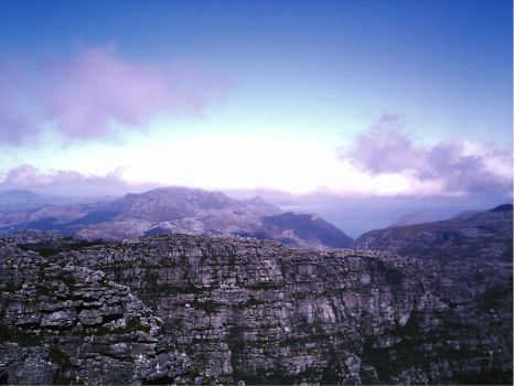 Table Mountain by emmaclairemercedes