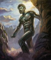Bronze Giant by NathanRosario