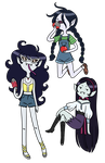 Marcy Outfits by HomestuckFanPoop