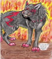 Adoth, Wolf of Death by NatsumeWolf