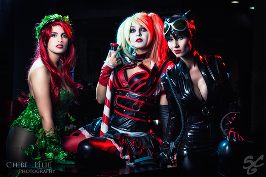 Gotham Sirens by Shermie-Cosplay