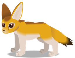 Fennec Fox b by PurpleRat-YS