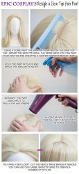 Restyle a Skin Top Hair Part by EpicCosplayWigs