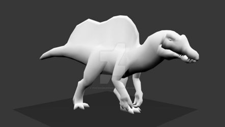 Spinosaurus Walkcycle by PivotNazaOfficial