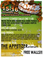 THE APPETIZER flyer front by gojoabbestia