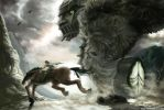 Shadow of the Colossus by meiwren