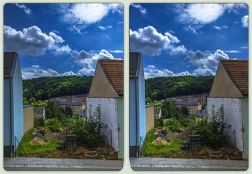 Building Gap 3-D / Stereoscopy / HDR / Raw by zour