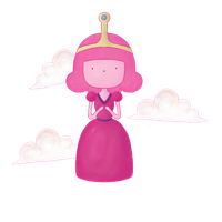 Young Princess Bubblegum by KidnappedByFairies