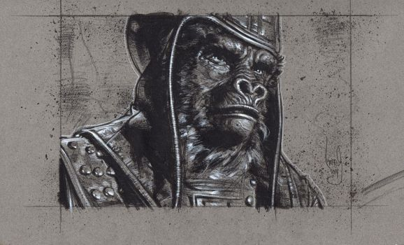 General Ursus, Planet Of The Apes by JeffLafferty